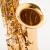 FLOFAIRのサックス楽器専門演奏級漆金中音E調中音サックFAS-568アセンブリボックスでFAS-568を拭きます。