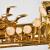 E 100 Gサクソフォーン漆金ソプラノサックス楽器