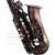 ロFFEEドイツのクラシックサックスの中で音楽器の復古/銅中音降下E調専門演奏級のサックスの復古