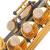 セイドソン(SAIDESEN)のサクソフォーン楽器はB調の高音サクソフォーン楽器黒ニッケル金鍵盤一体に黒ニッケル金鍵盤を設計し、一体管SS-450 N