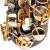 SAIDESENサクソフォーン調中音センサー/管楽器黒ニッケル金初学級専門演奏黒ニッケル金S-680